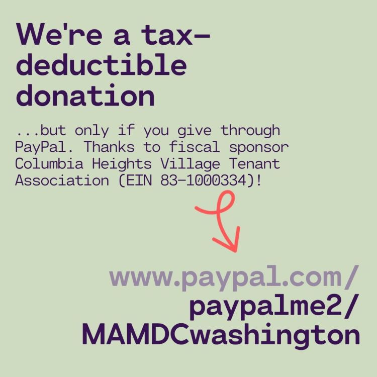 www.paypal.com/paypalme2/MAMDCwashington