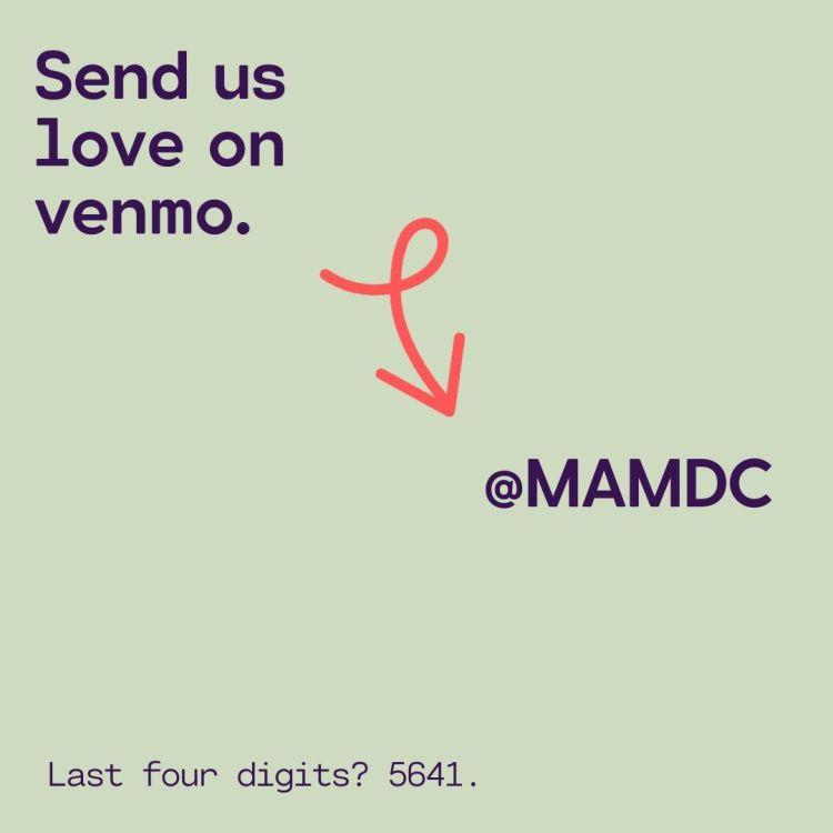 venmo.com/MAMDC